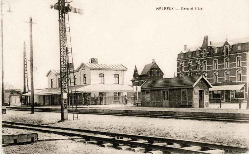 Gare de Melreux