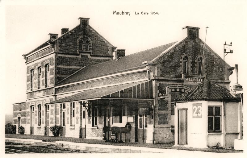 Gare de Maubray