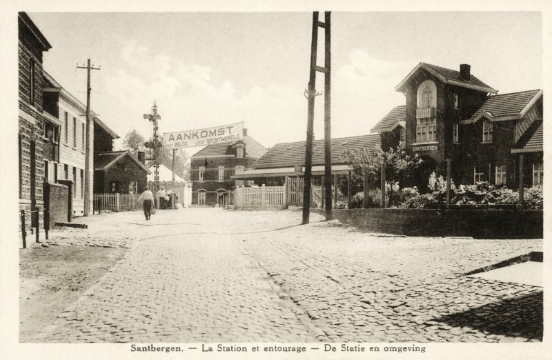 Gare de Zandbergen - Zandbergen station
