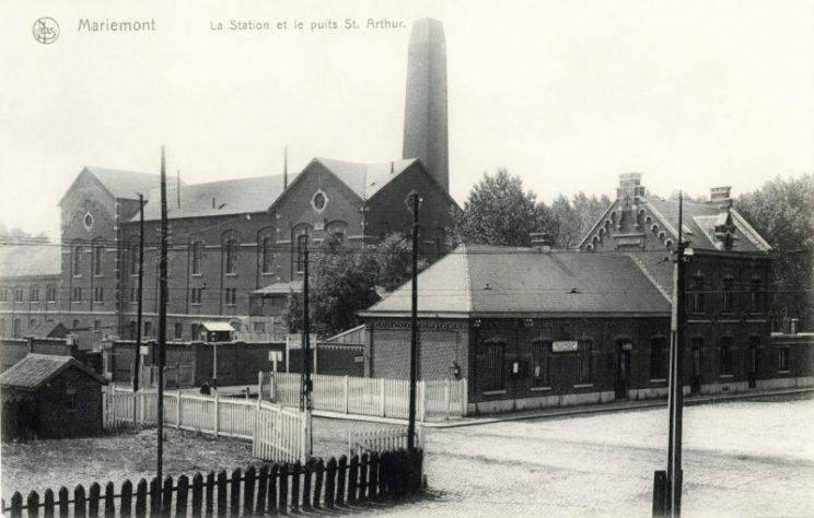 Gare de Mariemont