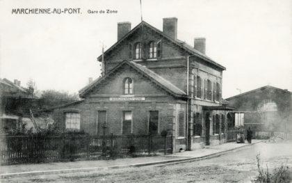 Gare de Marchienne Zone