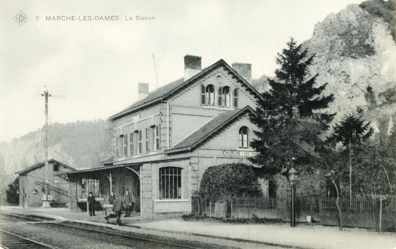 Gare de Marche-les-Dames