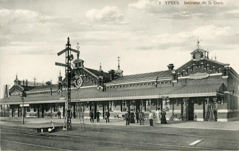 Gare de Ypres - Ieper station