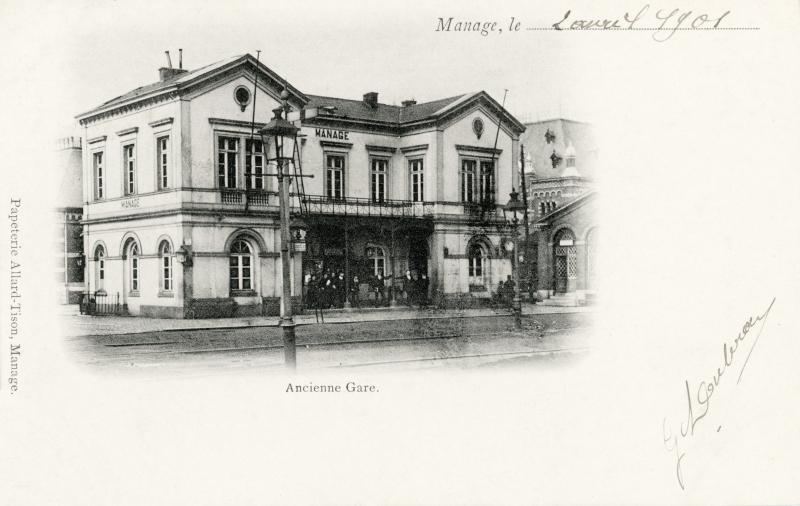 Gare de Manage