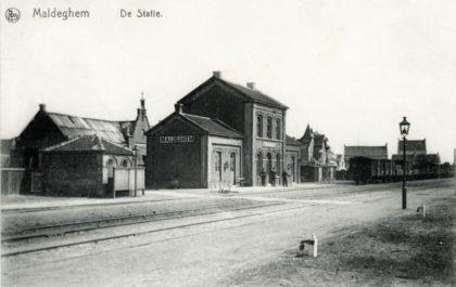 Gare de Maldegem - Maldegem station