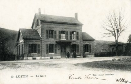 Gare de Lustin