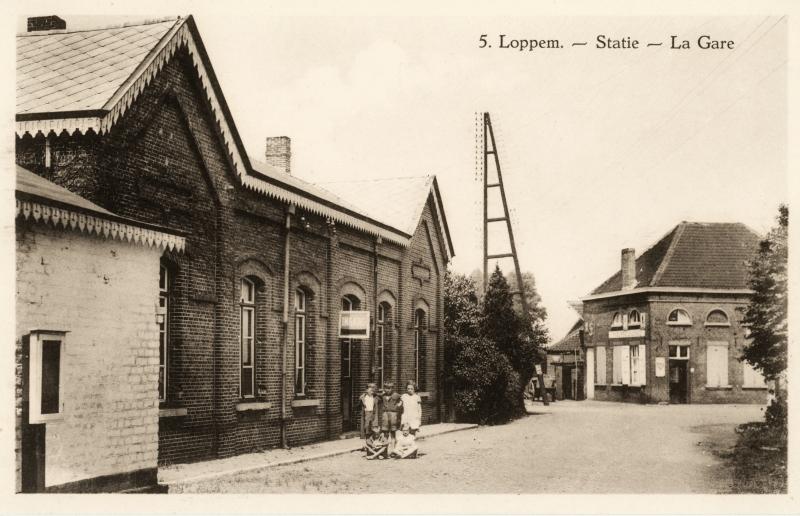 Gare de Loppem - Loppem station