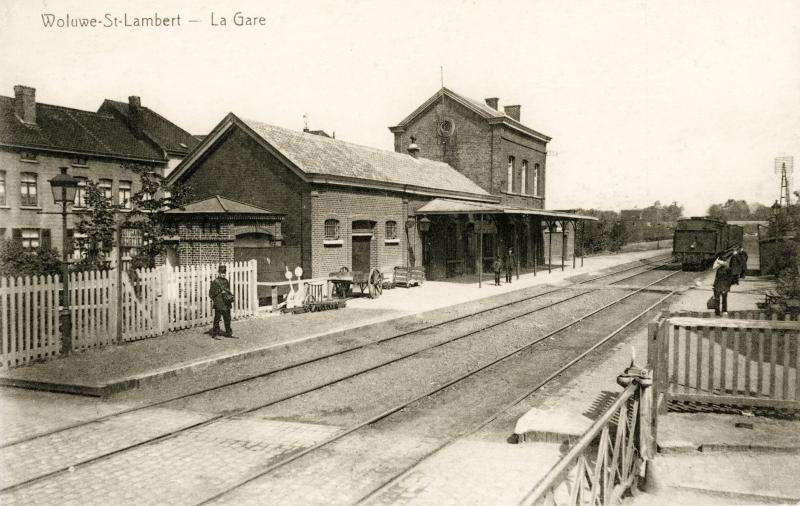 Gare de Woluwe-Saint-Lambert