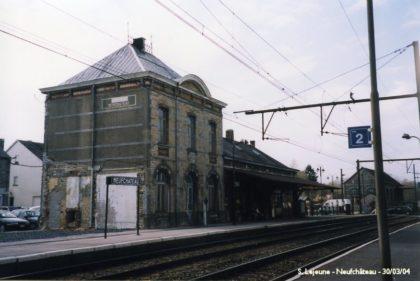 Gare de Longlier-Neufchâteau 2004