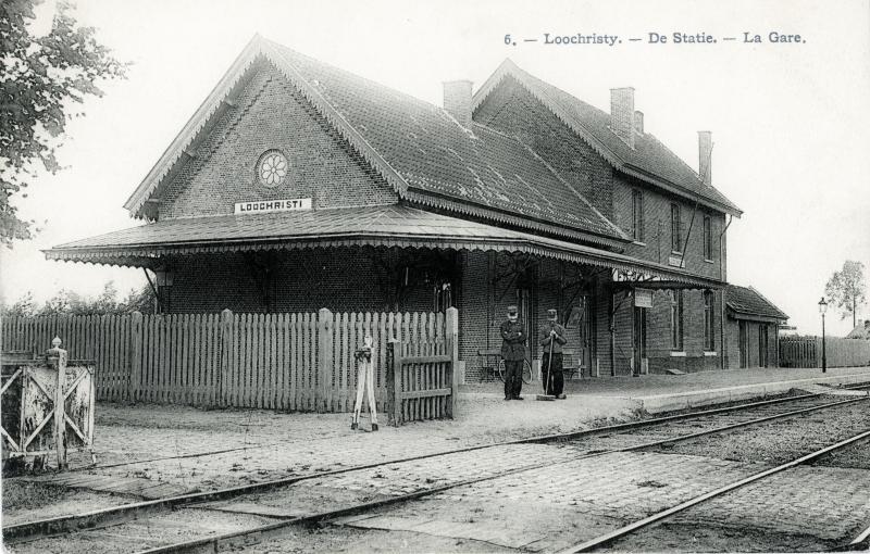 Gare de Lochristi - Lochristi station