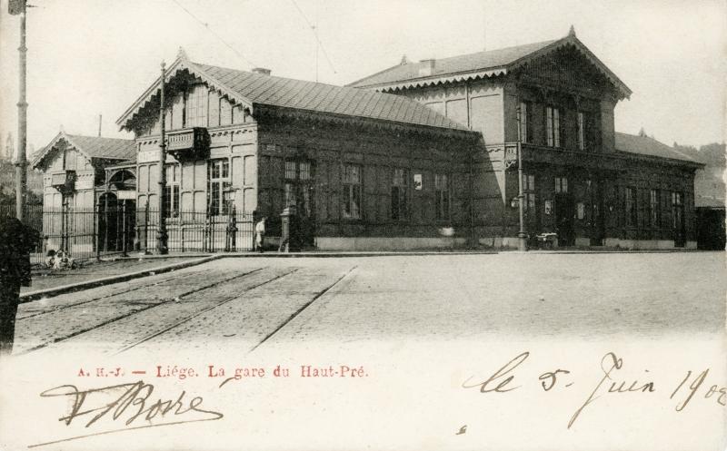 Gare de Liège Haut-Pré