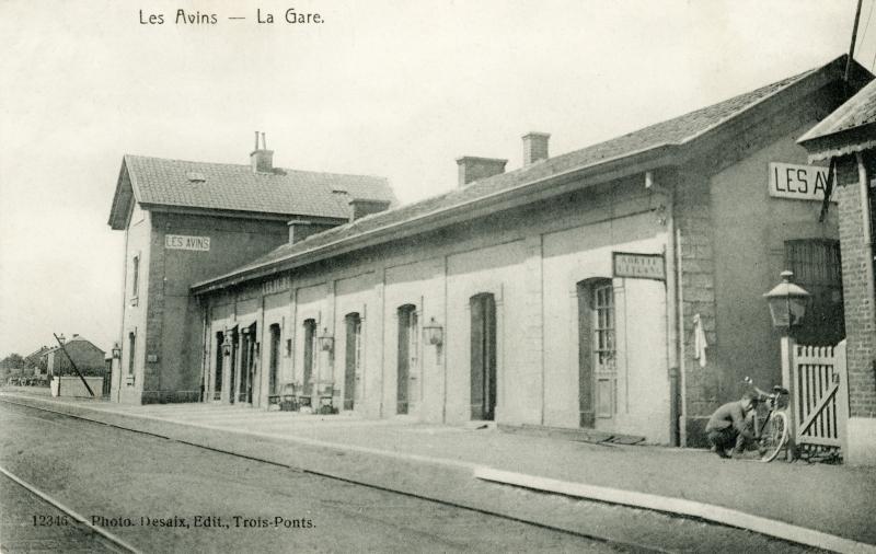 Gare de Les Avins-en-Condroz