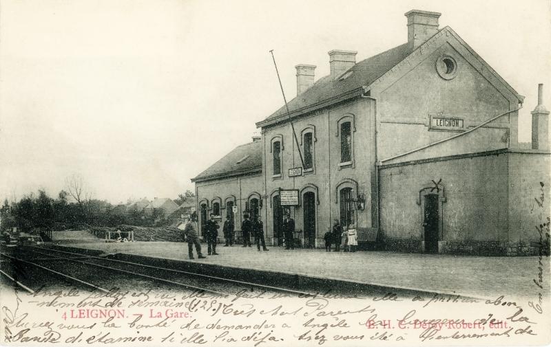 Gare de Leignon