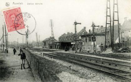 Gare d'Auvelais