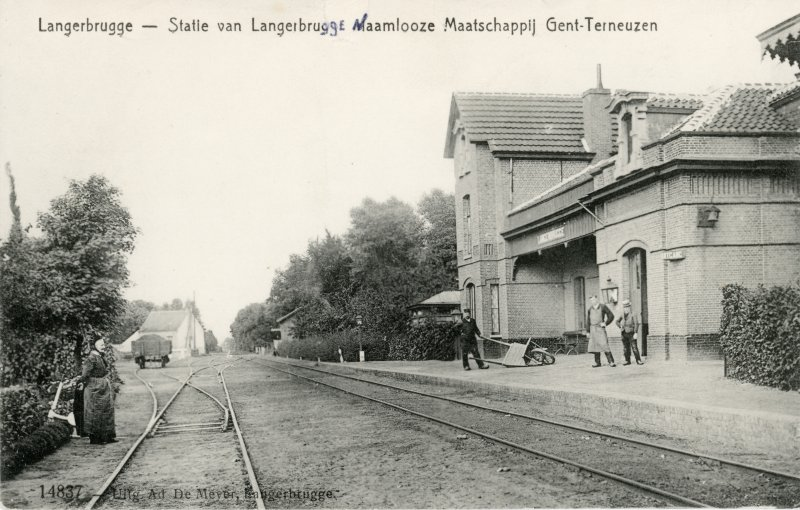 Gare de Langerbrugge - Langerbrugge station