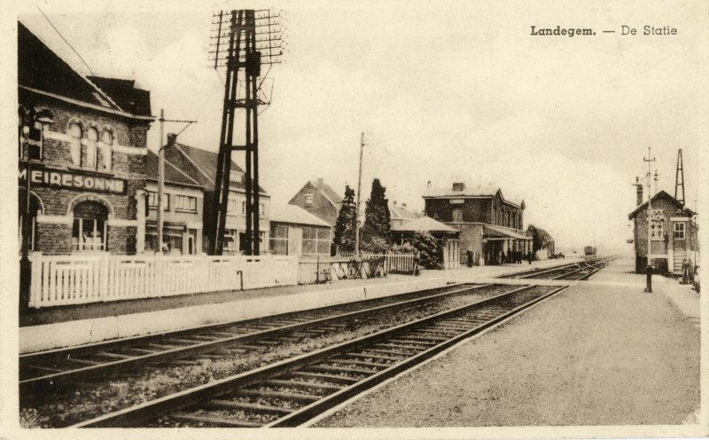 Gare de Landegem - Landegem station