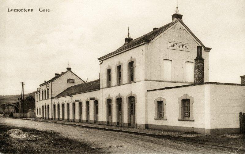 Gare de Lamorteau