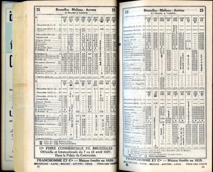 Ligne 25_2 (Horaire 1937)