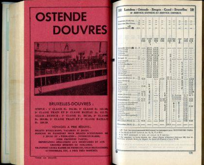 Ligne 50 _ 1 (Horaire 1937)
