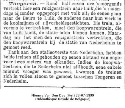 Nieuws van Den Haag 23/07/1899 (Bibliothèque Royale de Belgique)